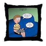 Timmys Bestest Buddy Throw Pillow
