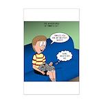 Timmys Bestest Buddy Mini Poster Print