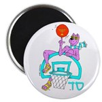 SABRA DOG(Basketball)Jewish Magnet (10 pk)