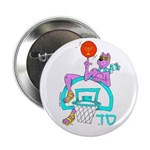 SABRA DOG(Basketball)Jewish Button (10 pk)