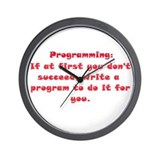 Programming Wall Clock