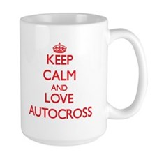 Keep calm and love Autocross Mugs