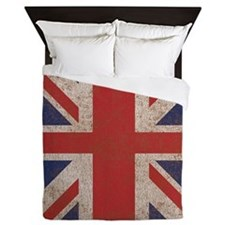 Vitnage British UK Flag Queen Duvet
