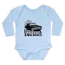 Big Trunk Long Sleeve Infant Bodysuit
