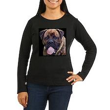 Brindle Bullmastiff Head Long Sleeve T-Shirt