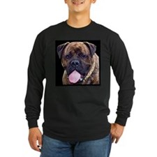 Brindle Bullmastiff Head Long Sleeve T-Shirt