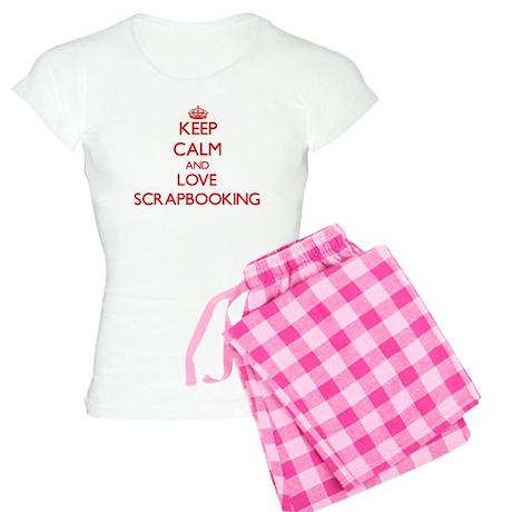 Keep calm and love Scrapbooking Pajamas