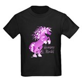 Horses Rock- Purple T