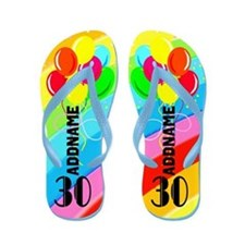 Cute 30Th Flip Flops