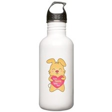 Some bunny loves you, cute humor Water Bottle