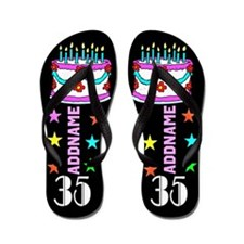 Awesome 35Th Flip Flops