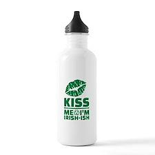 Kiss me Im Irish-ish g Water Bottle