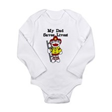 My Dad Saves Lives Body Suit
