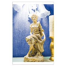 Art Nouveau Statue Large Poster