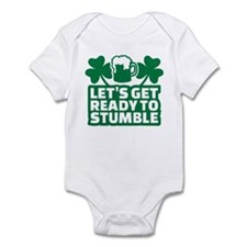 Let's get ready to stumble beer sh Infant Bodysuit