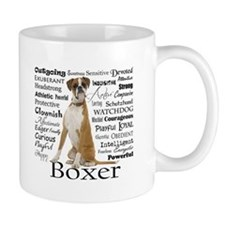 Boxer Traits Coffee Mugs