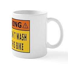 do not wash this bike Mug