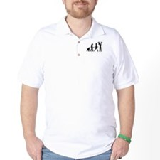 Female Weightlifter Evolution Golf Shirt