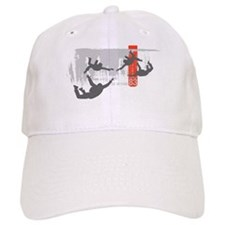 Sky diving Baseball Cap