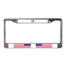 heroes wear License Plate Frame