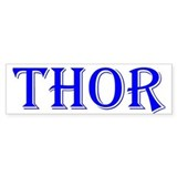 The Thor Two Store Bumper Bumper Sticker