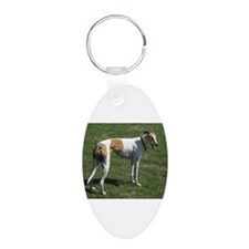 greyhound full Keychains