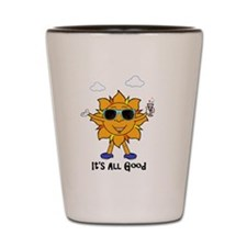 Smiling Sun Shot Glass