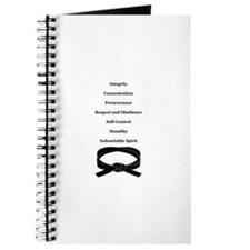 7 Tenets And 5 Codes - Tang Soo Do Student Journal