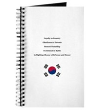 5 Codes And 7 Tenets - Tang Soo Do Student Journal