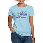 I Take My Kids Everywhere Women's Light T-Shirt