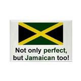 Perfect Jamaican Rectangle Magnet