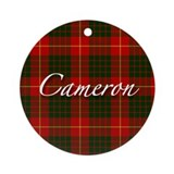 Clan Cameron - Just Tartan Ornament (Round)