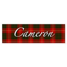 Clan Cameron - Just Tartan Bumper Bumper Sticker