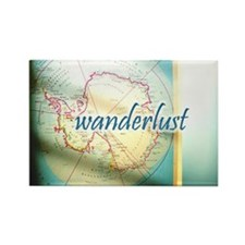 Wanderlust Rectangle Magnet