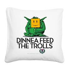 Trolls Square Canvas Pillow