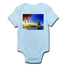 France on the Seine Body Suit