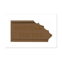 Chocolate For You Posters