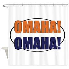 Omaha Omaha Shower Curtain