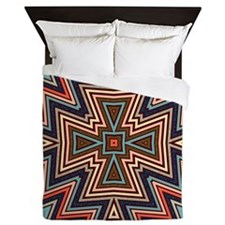 Aztec TriCross Queen Duvet