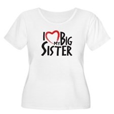 I HEAT MY BIG SISTER Plus Size T-Shirt