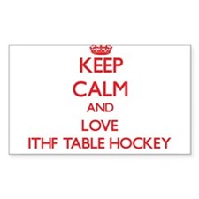 Keep calm and love Ithf Table Hockey Decal