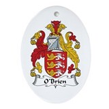 O'Brien Oval Ornament