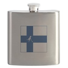 Team Ice Hockey Finland Flask