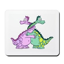 Love Dragons Mousepad