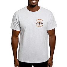 Cowboy Up Orange Logo T-Shirt