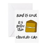 Band Is Great Greeting Cards (Pk of 10)