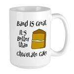 Band Is Great Large Mug