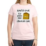 Band Is Great Women's Light T-Shirt