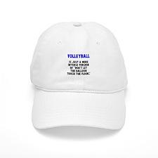 Volley floor Baseball Cap