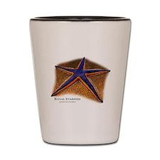 Royal Starfish Shot Glass
